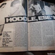 Coleccionismo deportivo: HODDLE , ESE 10 .JUGADOR DEL TOTTENHAM - 3 PAGINAS AÑO 1982. Lote 182385347