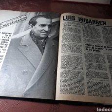 Coleccionismo deportivo: ENTREVISTA A LUIS IRIBARREN . SELECCIONADOR NACIONAL DE FUTBOL - 4 PAGINAS AÑO 1982. Lote 182413155