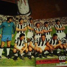 Coleccionismo deportivo: COLECCION AS COLOR ANTIGUA ; COMPLETA CON 557 NUMEROS 1971-1981 - CON POSTERS. Lote 182428248