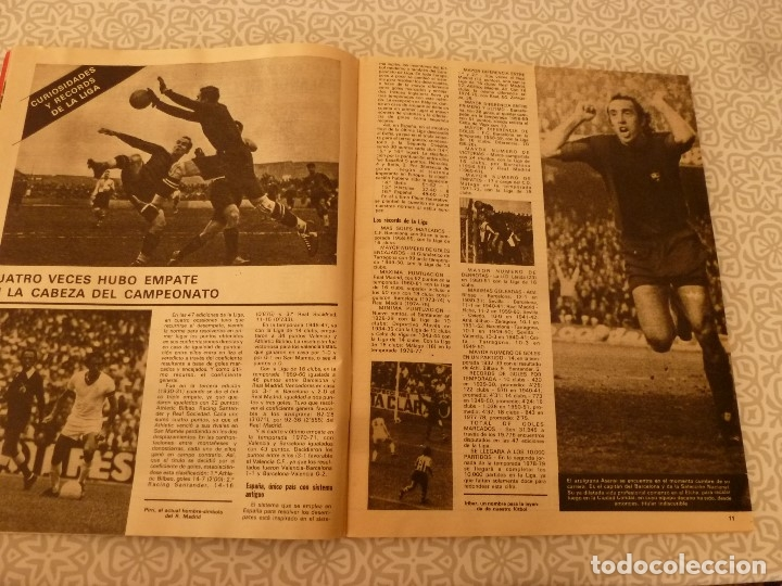 Coleccionismo deportivo: MUNDO DEPORTIVO ESPECIAL SETIEMBRE 1978- FOTO PLANTILLAS DE LA LIGA Y EL MUNDO DEL FUTBOL - Foto 2 - 182446053