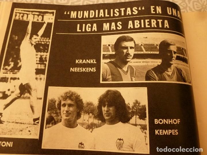 Coleccionismo deportivo: MUNDO DEPORTIVO ESPECIAL SETIEMBRE 1978- FOTO PLANTILLAS DE LA LIGA Y EL MUNDO DEL FUTBOL - Foto 7 - 182446053