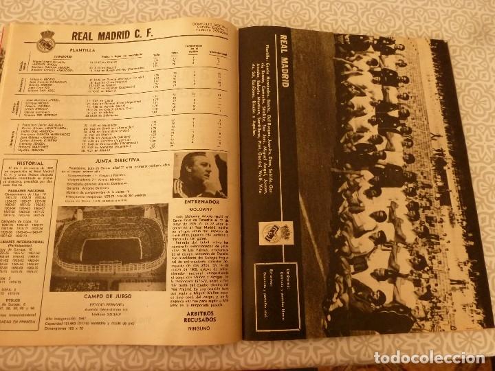 Coleccionismo deportivo: MUNDO DEPORTIVO ESPECIAL SETIEMBRE 1978- FOTO PLANTILLAS DE LA LIGA Y EL MUNDO DEL FUTBOL - Foto 8 - 182446053