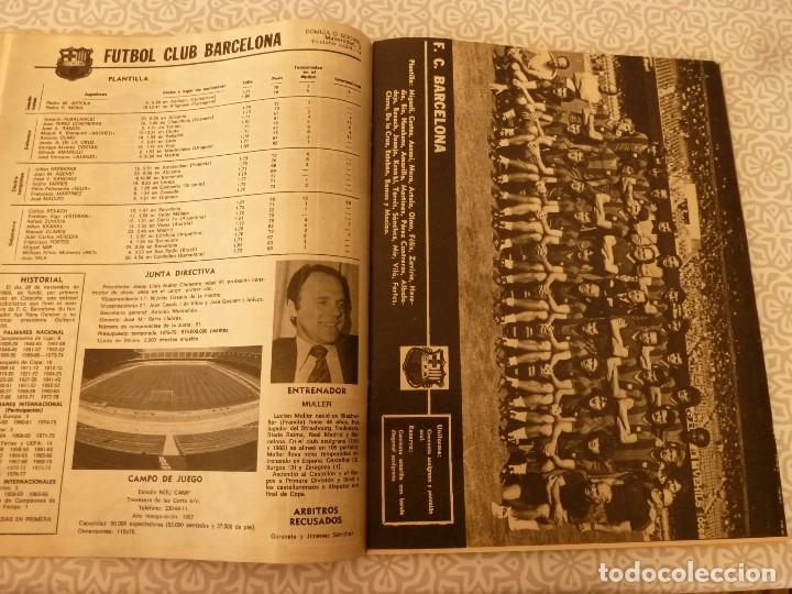 Coleccionismo deportivo: MUNDO DEPORTIVO ESPECIAL SETIEMBRE 1978- FOTO PLANTILLAS DE LA LIGA Y EL MUNDO DEL FUTBOL - Foto 9 - 182446053