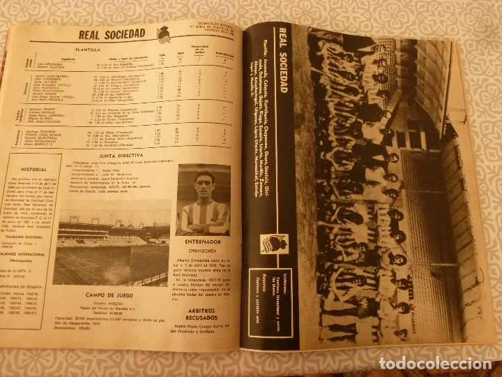 Coleccionismo deportivo: MUNDO DEPORTIVO ESPECIAL SETIEMBRE 1978- FOTO PLANTILLAS DE LA LIGA Y EL MUNDO DEL FUTBOL - Foto 18 - 182446053