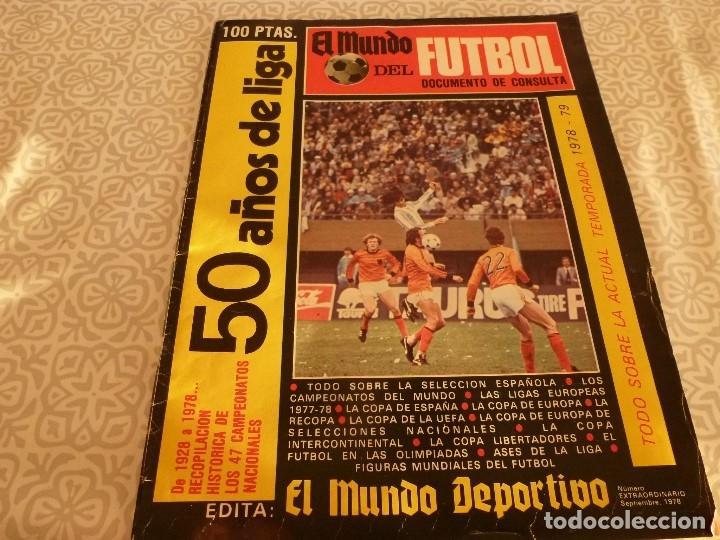 Coleccionismo deportivo: MUNDO DEPORTIVO ESPECIAL SETIEMBRE 1978- FOTO PLANTILLAS DE LA LIGA Y EL MUNDO DEL FUTBOL - Foto 39 - 182446053