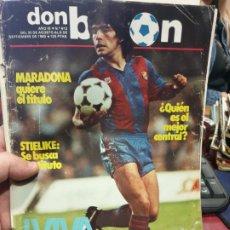 Coleccionismo deportivo: REVISTA DON BALON AÑO 1983 NUMERO 412 MARADONA. Lote 182452051