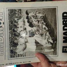 Coleccionismo deportivo: REVISTA DON BALON AÑO 1984 NUMERO 432 REAL MADRID . Lote 182452923