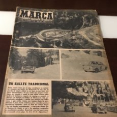 Coleccionismo deportivo: ANTIGUO MARCA XXX RALLYE MONTECARLO 1961. Lote 182561016