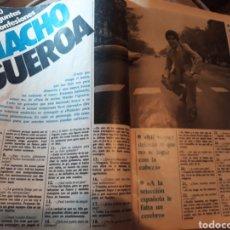 Coleccionismo deportivo: ENTREVISTA A MACHO FIGUEROA JUGADOR DEL MURCIA . 4 PÁGINAS AÑO 1984. Lote 182714957