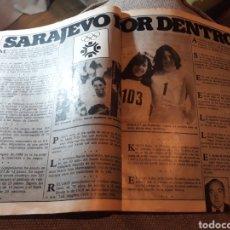 Coleccionismo deportivo: SARAJEVO POR DENTRO . BLANCA FERNÁNDEZ- OCHOA , SEXTO PUESTO . 2 PAGINAS AÑO 1984. Lote 182716122