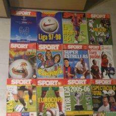 Coleccionismo deportivo: LOTE DE 17 REVISTAS SPORT. Lote 182731707