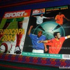 Coleccionismo deportivo: SPORT GUÍA COMPLETA EUROCOPA 2004 PORTUGAL, REVISTA DE LA EUROCOPA. REGALO DON BALÓN EXTRA EUROCOPA.. Lote 182740660