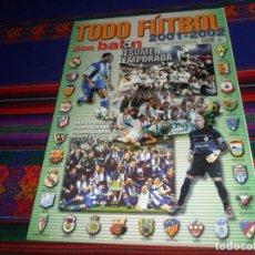 Coleccionismo deportivo: DON BALÓN TODO FÚTBOL 2001 2002 RESUMEN DE LA TEMPORADA. EXTRA Nº 61. . Lote 182740923