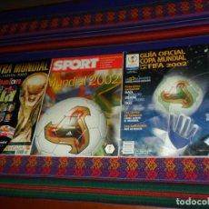 Coleccionismo deportivo: SPORT SUPLEMENTO ESPECIAL MUNDIAL 2002 COREA JAPÓN Y DON BALÓN EXTRA. REGALO GUÍA OFICIAL DE LA FIFA. Lote 182744093