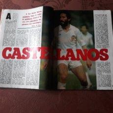 Coleccionismo deportivo: CASTELLANOS , SEIS PÁGINAS- REVISTA AÑO 1984. Lote 182768270