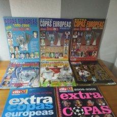 Coleccionismo deportivo: GRAN LOTE 8 EXTRA DON BALÓN COPAS EUROPEAS 48-53-56-64-71-77-82-108. Lote 183006568