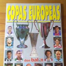 Coleccionismo deportivo: EXTRA DON BALON COPAS EUROPEAS N° 44 , AÑO 98/99. Lote 183007540