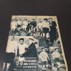 Coleccionismo deportivo: MARCA N° 80. 06/06/1944.. Lote 183078135