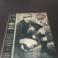 Coleccionismo deportivo: MARCA N° 63. 08/02/1944.. Lote 183079558
