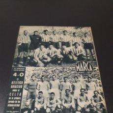 Coleccionismo deportivo: MARCA N° 77. 16/05/1944.. Lote 183085533