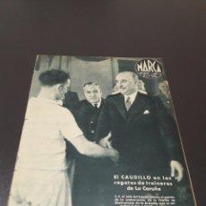 Coleccionismo deportivo: MARCA N° 39. 24/08/1943.. Lote 183273886