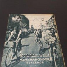 Coleccionismo deportivo: MARCA N° 40. 31/08/1943.. Lote 183274222