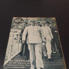 Coleccionismo deportivo: MARCA N° 42. 14/09/1943.. Lote 183275051