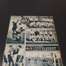 Coleccionismo deportivo: MARCA N° 46. 12/10/1943.. Lote 183276280