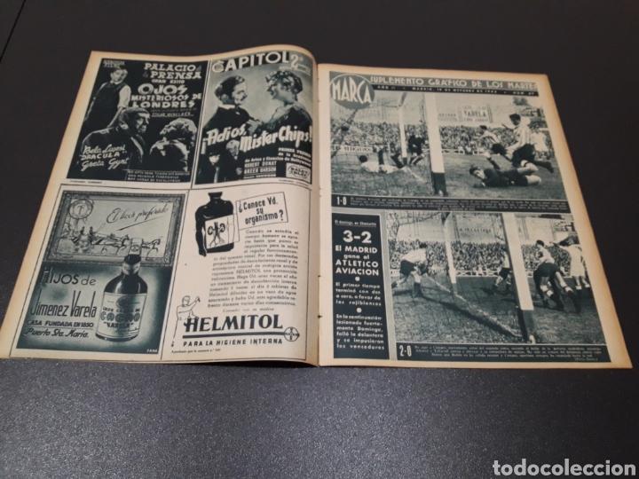 Coleccionismo deportivo: MARCA N° 47. 19/10/1943. - Foto 2 - 183276600