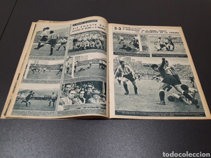 Coleccionismo deportivo: MARCA N° 47. 19/10/1943. - Foto 5 - 183276600