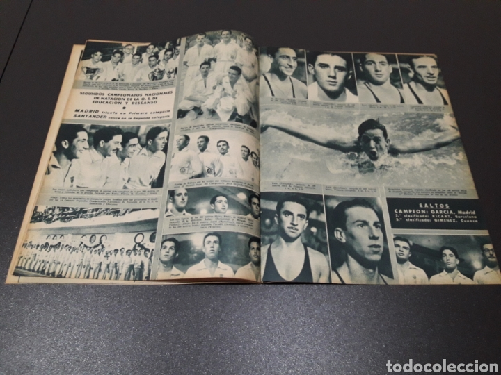 Coleccionismo deportivo: MARCA N° 47. 19/10/1943. - Foto 6 - 183276600