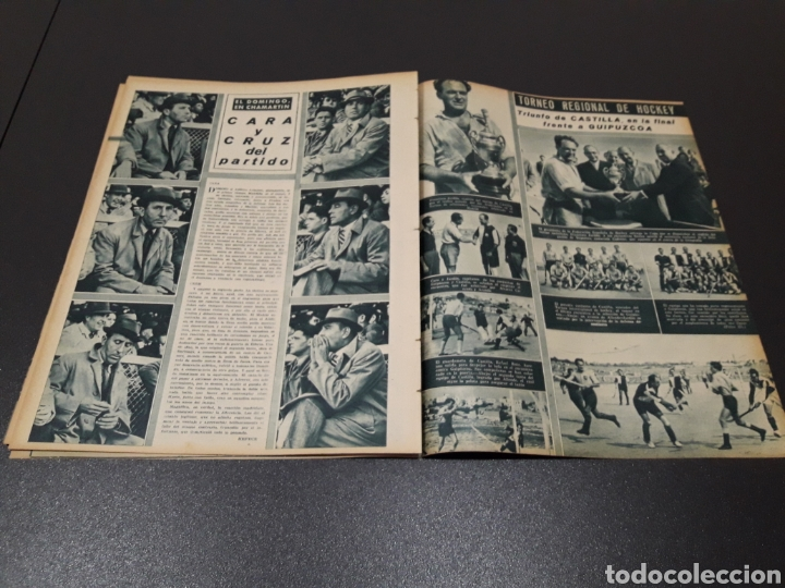 Coleccionismo deportivo: MARCA N° 47. 19/10/1943. - Foto 10 - 183276600