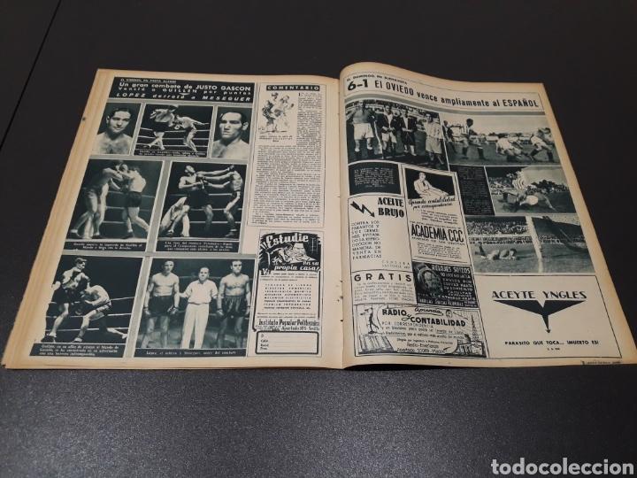 Coleccionismo deportivo: MARCA N° 47. 19/10/1943. - Foto 12 - 183276600