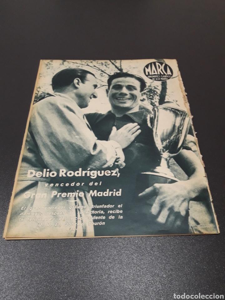 Coleccionismo deportivo: MARCA N° 47. 19/10/1943. - Foto 13 - 183276600