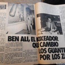 Coleccionismo deportivo: BEN ALI , EL BOXEADOR QUE CAMBIÓ LOS GUANTES POR LOS ZAPATOS. 4 PÁGINAS AÑO 1984. Lote 183294822