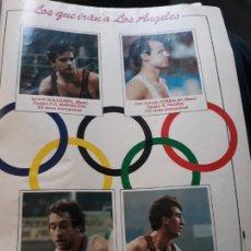 Coleccionismo deportivo: BALONCESTO, LOS QUE IRAN A LOS ANGELES - 4 PÁGINAS AÑO 1984. Lote 183295583