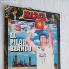 Coleccionismo deportivo: SUPLEMENTO MARCA 11 ABRIL 1995 - FINAL FOUR - ZARAGOZA 95 - REAL MADRID -. Lote 183331663