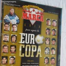 Coleccionismo deportivo: ESPECIAL MARCA - EUROCOPA 96 - CON POSTER FOTOS. . Lote 183332531