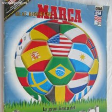 Coleccionismo deportivo: MARCA - SUPERFUTBOL - MUNDIAL USA 94.. Lote 183333015