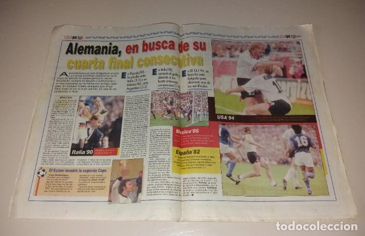 Coleccionismo deportivo: Periódico Sport. Mundial USA 1994, España vs Italia, codazo a Luis Enrique de Tassotti - Foto 5 - 202038032