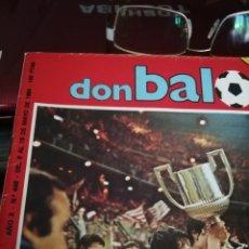 Coleccionismo deportivo: DON BALON ESPECIAL. ATLETIC BILBAO CAMPEÓN COPA. 1984. Lote 183345427