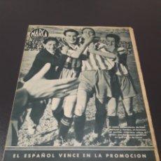Coleccionismo deportivo: MARCA. N° 21. 20/04/1943.. Lote 183766891