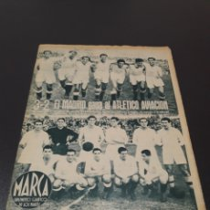 Coleccionismo deportivo: MARCA. N° 47. 19/10/1943.. Lote 183767148