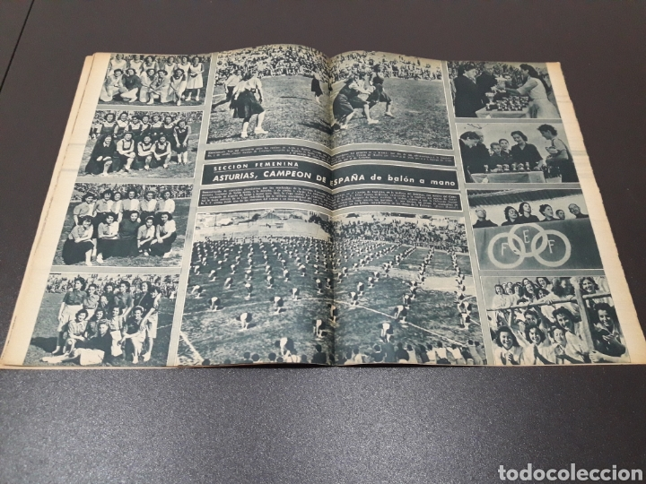 Coleccionismo deportivo: MARCA. N° 46. 12/10/1943. - Foto 7 - 183771475