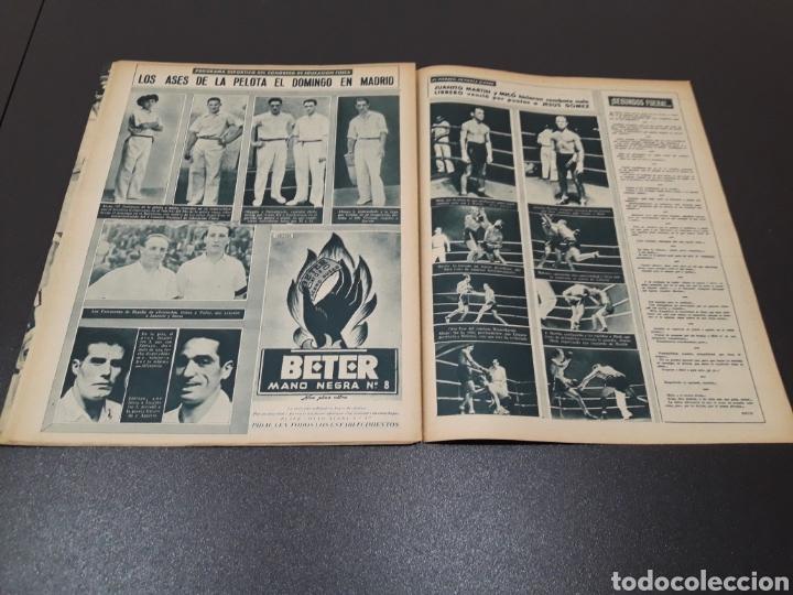 Coleccionismo deportivo: MARCA. N° 46. 12/10/1943. - Foto 11 - 183771475