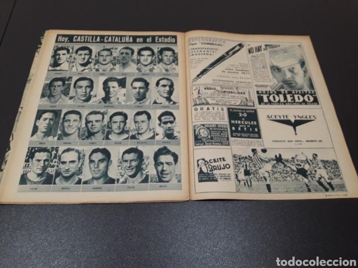 Coleccionismo deportivo: MARCA. N° 46. 12/10/1943. - Foto 12 - 183771475