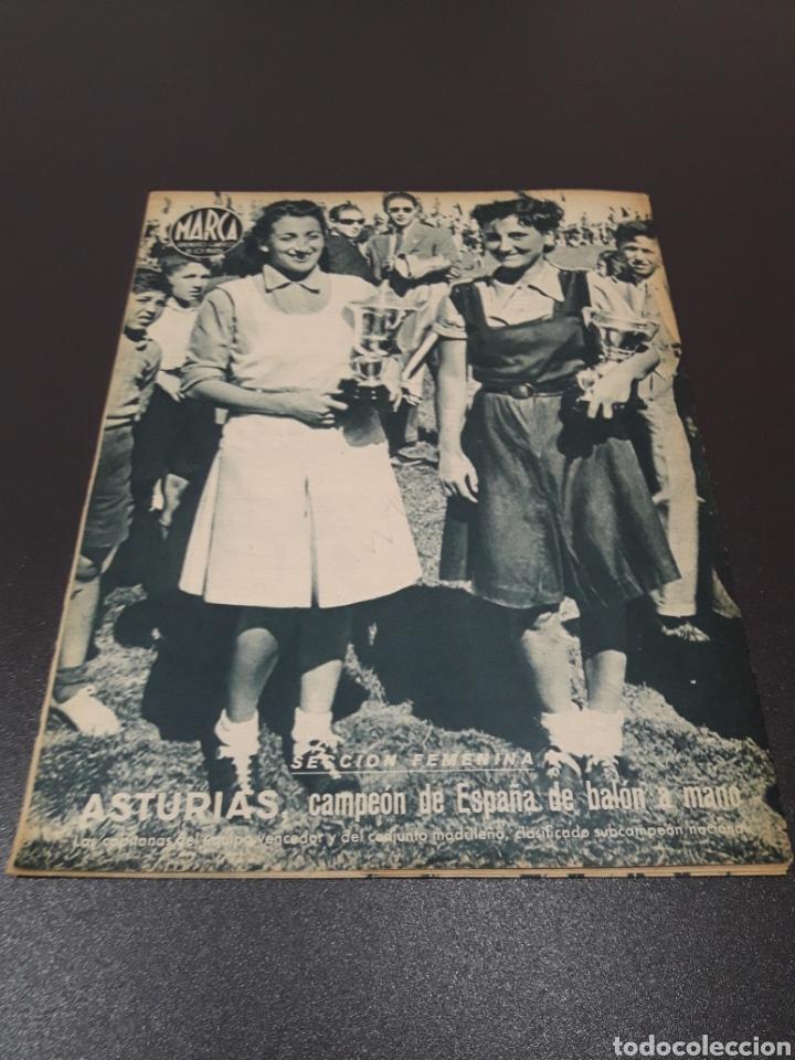 Coleccionismo deportivo: MARCA. N° 46. 12/10/1943. - Foto 13 - 183771475