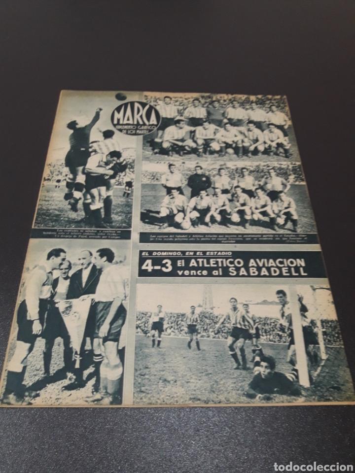 MARCA. N° 46. 12/10/1943. (Coleccionismo Deportivo - Revistas y Periódicos - Marca)