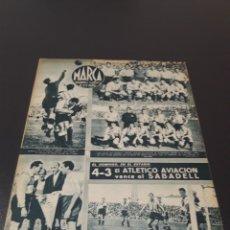 Coleccionismo deportivo: MARCA. N° 46. 12/10/1943.. Lote 183771475