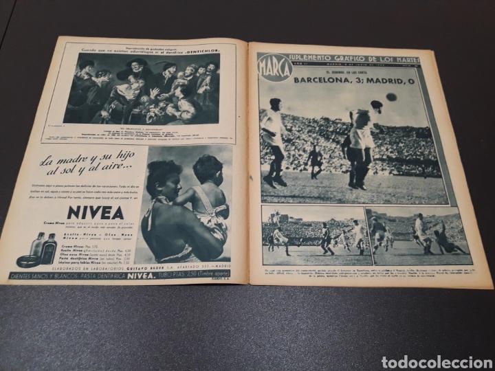 Coleccionismo deportivo: MARCA. N° 20. 08/06/1943. - Foto 2 - 183773872